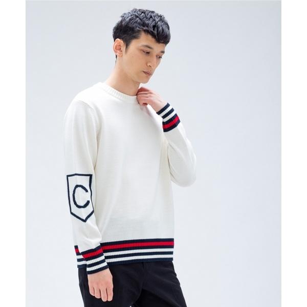 【NY企画】ウールポリエステル C ロゴ ニット/カルバン・クライン メン(Calvin Klein men)
