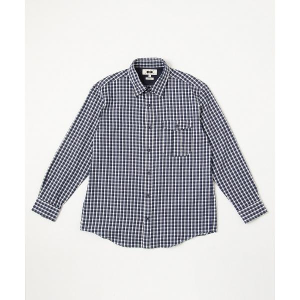 【キングサイズ】ソフトツイスト ネルシャツ/ジョセフ アブード(JOSEPH ABBOUD)