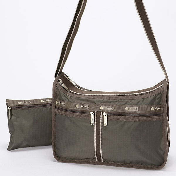 DELUXE EVERYDAY BAG/チャコールシークレット/レスポートサック(LeSportsac)