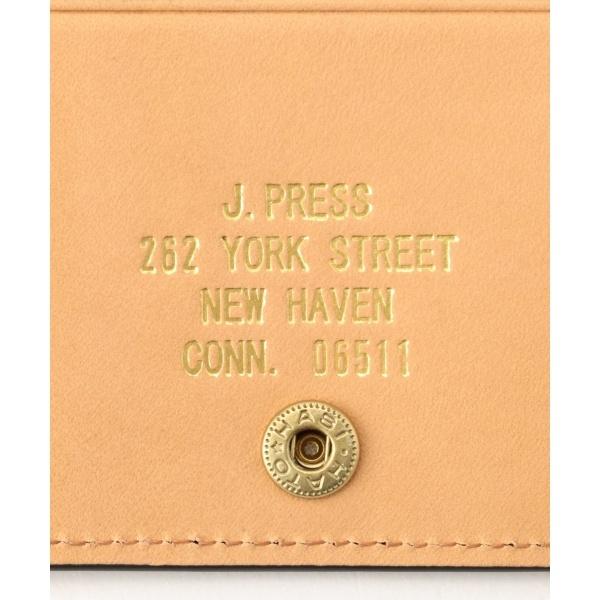 カタログ掲載 オリジナルレザー カードケース ジェイ・プレス メン J PRESS MENIEDH29