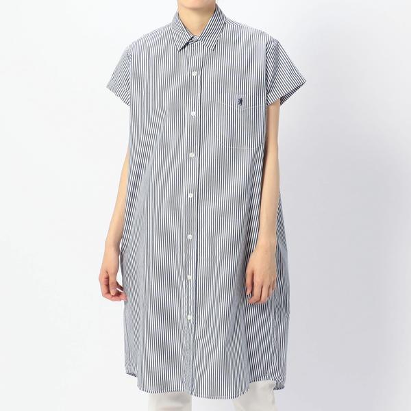 【Gymphlex】半袖ルーズシャツドレス TSS WOMEN/ビショップ(レディース)(Bshop)