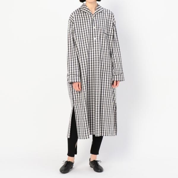 【Gymphlex】パジャマシャツドレス NTS WOMEN/ビショップ(レディース)(Bshop)