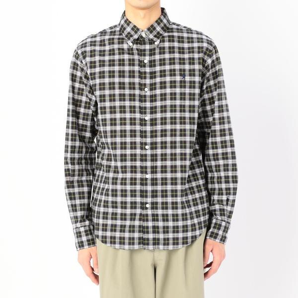 【Gymphlex】マドラスチェック ボタンダウンシャツ MEN/ビショップ(メンズ)(Bshop)