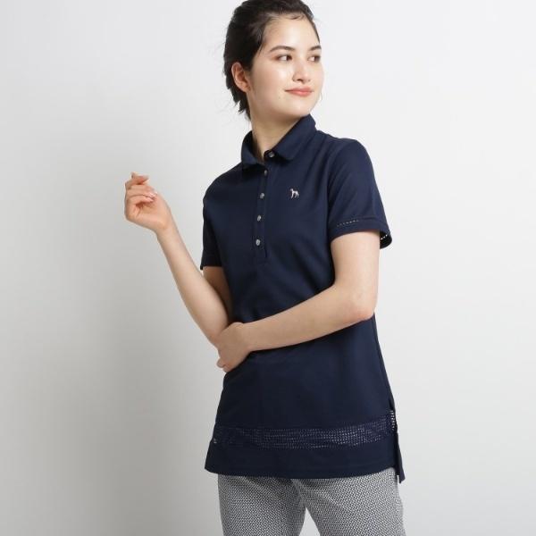【吸水速乾UVカット】チュニックポロシャツ/アダバット(レディス)(adabat(Ladies))