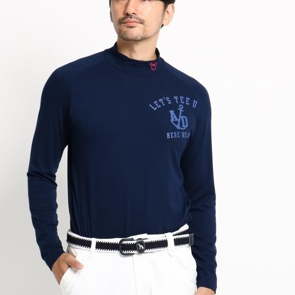 MTシャツ(ハイネック ラグラン メンズ)/アダバット(メンズ)(adabat(Mens))