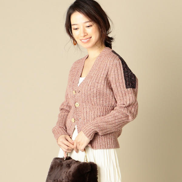 unfil:メランジメリノカーディガン/シップス(レディース)(SHIPS for women)