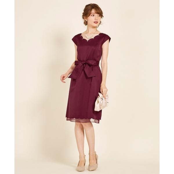 スカラップグログラン ドレス/フェルゥ(Feroux)