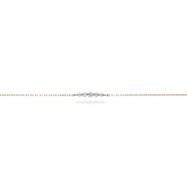 K18PG ダイヤブレスレット[ Luxurious ]/タイムレスワンズ(Timeless Ones)