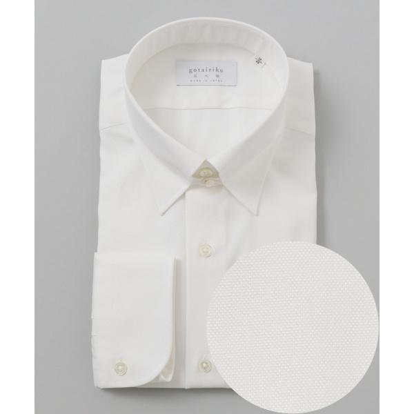 【日本製】【スナップダウン】 SLOWVINTAGE ドレスシャツ/五大陸(gotairiku)
