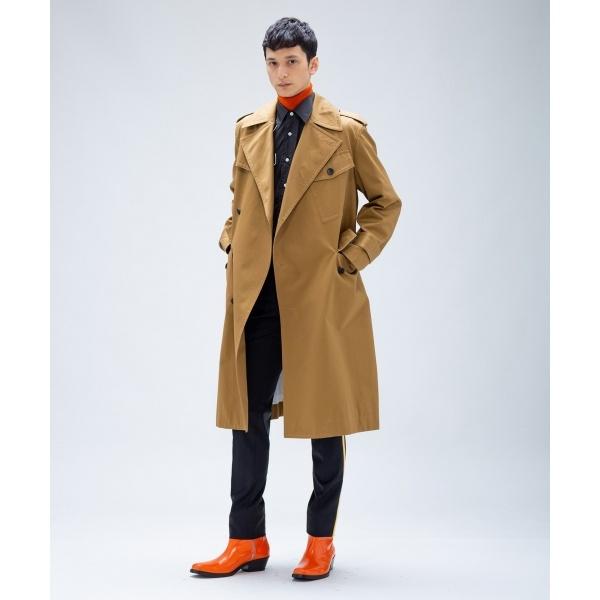 【WEB&一部店舗限定】コンパクトダブルウィーブ トレンチコート/カルバン・クライン メン(Calvin Klein men)