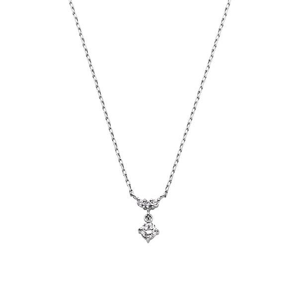 プラチナ ダイヤモンド0.060 CT プティブラン ネックレス/VA ヴァンドーム青山(VAvendomeaoyama)