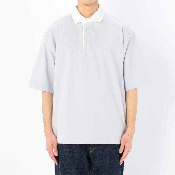 【Gymphlex】半袖ラグビーシャツ SOLID MEN/ビショップ(メンズ)(Bshop)