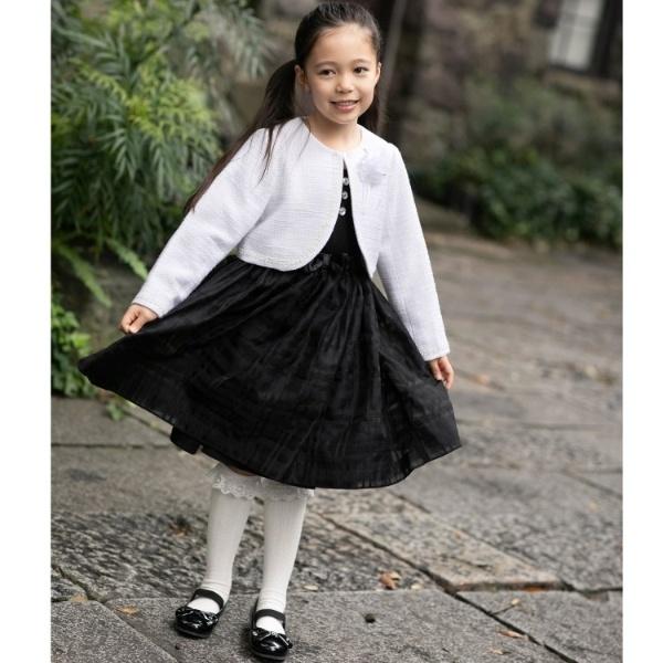 スーツ(【卒園・入学式】【110cm、120cm】4WAY ブラックワンピース SET)/ザ ショップ ティーケー(キッズ)(THE SHOP TK Kids)