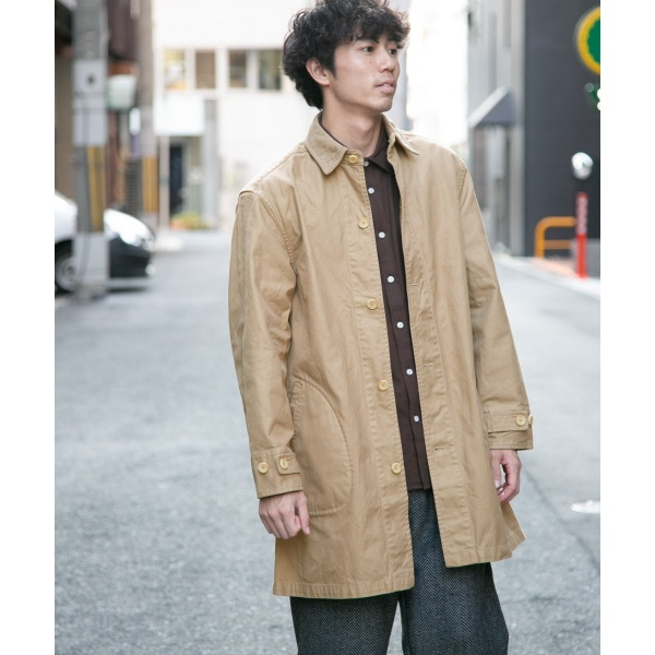 メンズコート(MANUAL ALPHABET O/D DRILL SHIRTS COAT)/URセレクト(UR SELECT)