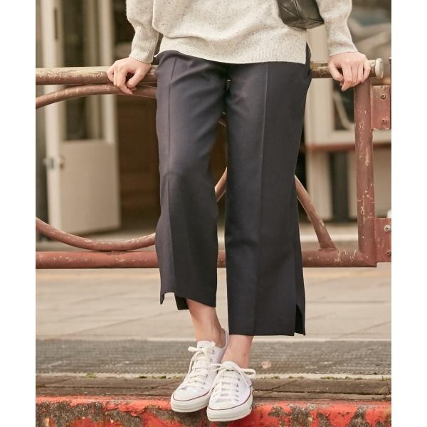 【セットアップ】Wool Flannel ワイドパンツ/アイシービー(ICB)