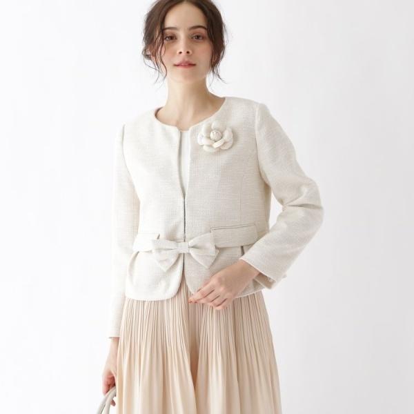 【WEB限定サイズ(SS・LL)あり】カルゼツイードジャケット/クチュールブローチ(Couture Brooch)