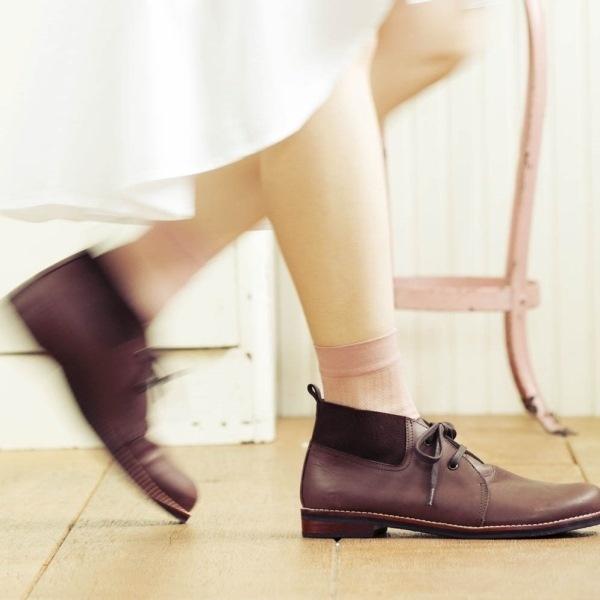 オイルレザーチャッカブーツ ソフトインソール(FS-1127)/フットスタイル(foot style)