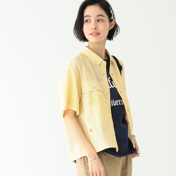 WOOLRICH / 別注 フィッシング シャツ/ビームス ボーイ(BEAMS BOY)