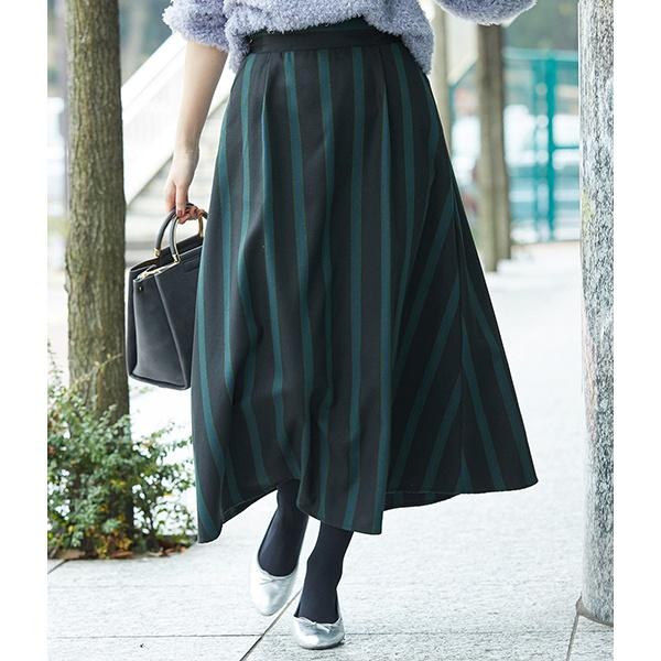 【レディース】春コーデに合うストライプ柄のスカートは?