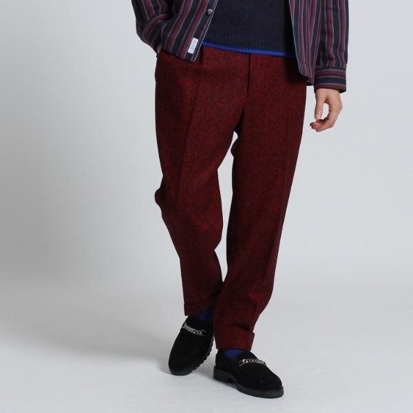 Mスラック(ツィードヘリンボンパンツ Fabric by MOON[ メンズ パンツ セットアップ ツイード ])/タケオキクチ(TAKEO KIKUCHI)