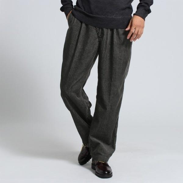 Mスラック(2タックワイド コーデュロイパンツ Fabric by DUCA VISCONTI[ メンズ パンツ ])/タケオキクチ(TAKEO KIKUCHI)