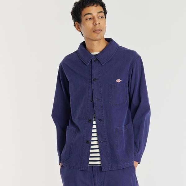 【DANTON】カバーオールジャケット SER MEN/ビショップ(メンズ)(Bshop)