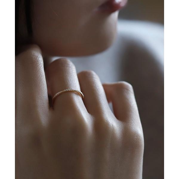 デザインダイヤリング[スキップエタニティ]/シエナロゼ(SIENA ROSE)