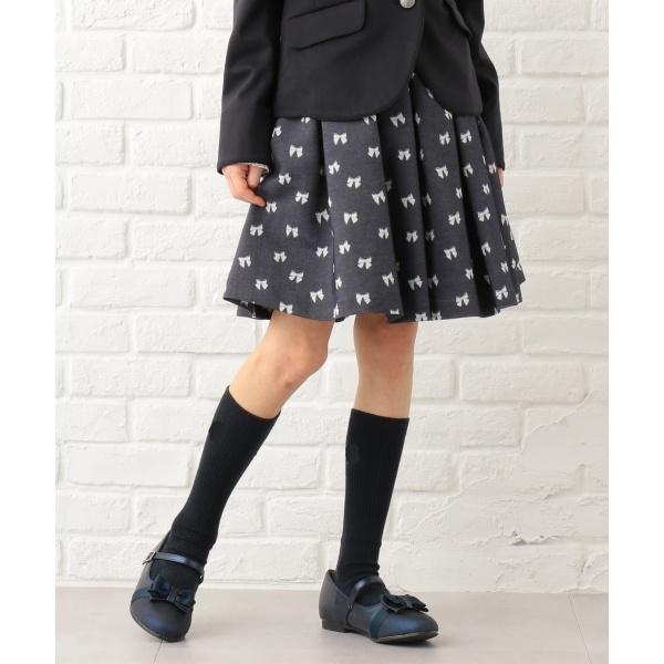 【150~170cm】リボンタック スカート/組曲 キッズ(KUMIKYOKU KIDS)