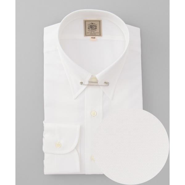 【100% SUPER FINE COTTON】ブロード ピンホールカラーシャツ/ジェイ・プレス メン(J.PRESS MEN)