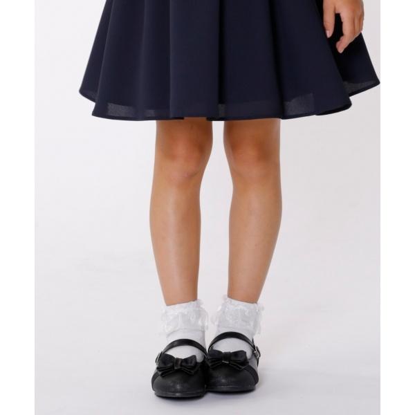 【KIDS雑貨】グリッターバレエシューズ (17~21cm)/組曲 キッズ(KUMIKYOKU KIDS)