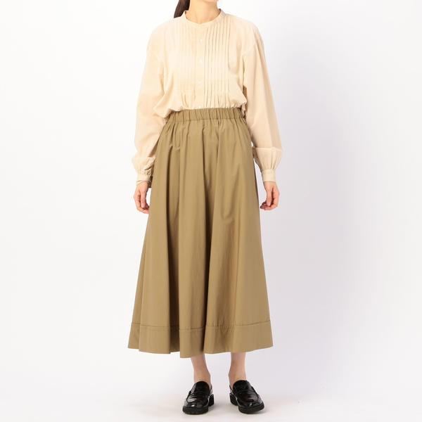 【LE GLAZIK】ロングフレアスカート WOMEN/ビショップ(レディース)(Bshop)