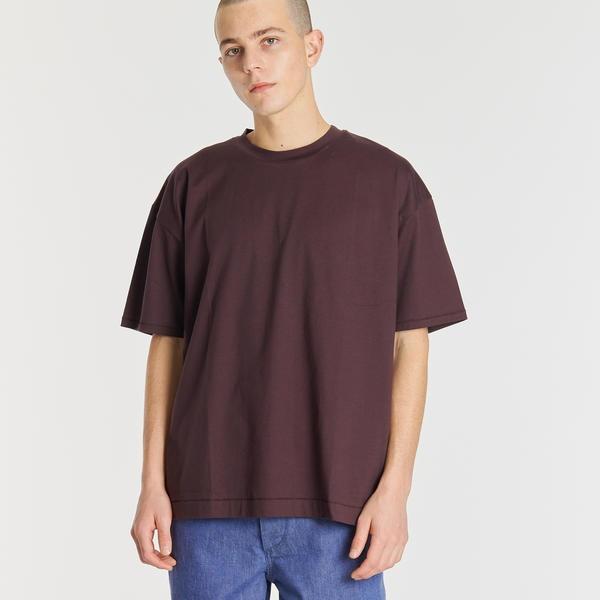 【ATON】オーバーサイズTシャツ MEN/ビショップ(メンズ)(Bshop)