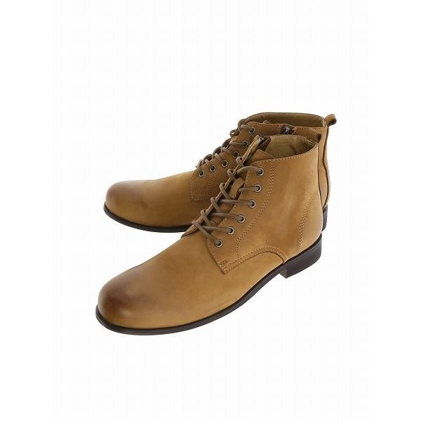ヌバックレザーレースアップショートブーツ/アラウンド ザ シューズ(around the shoes)