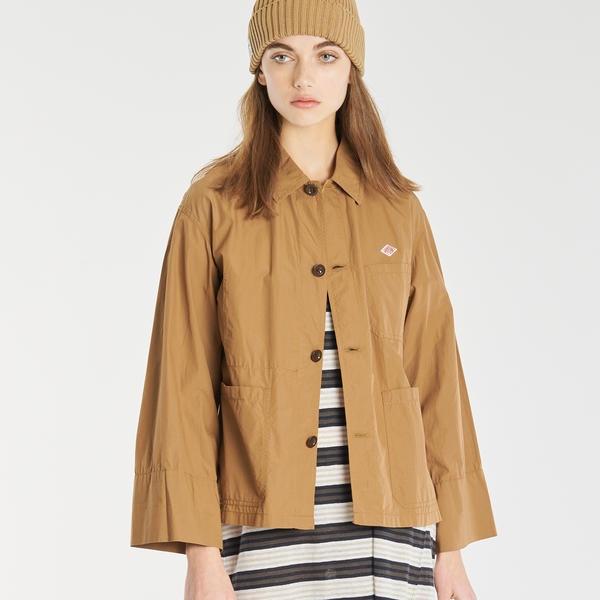 【DANTON】カバーオールシャツジャケット MSA WOMEN/ビショップ(レディース)(Bshop)
