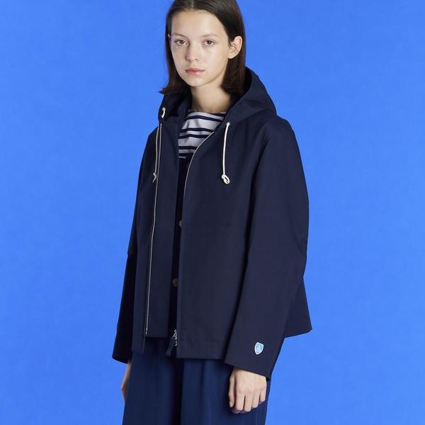 【ORCIVAL】ZIP フードジャケット WOMEN/ビショップ(レディース)(Bshop)