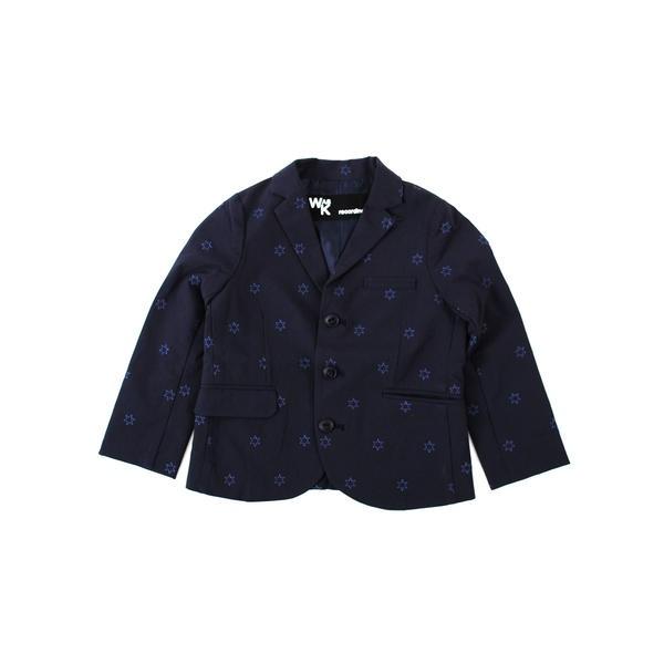 星刺繍テーラードジャケット(160cm)/ワスク(WASK)