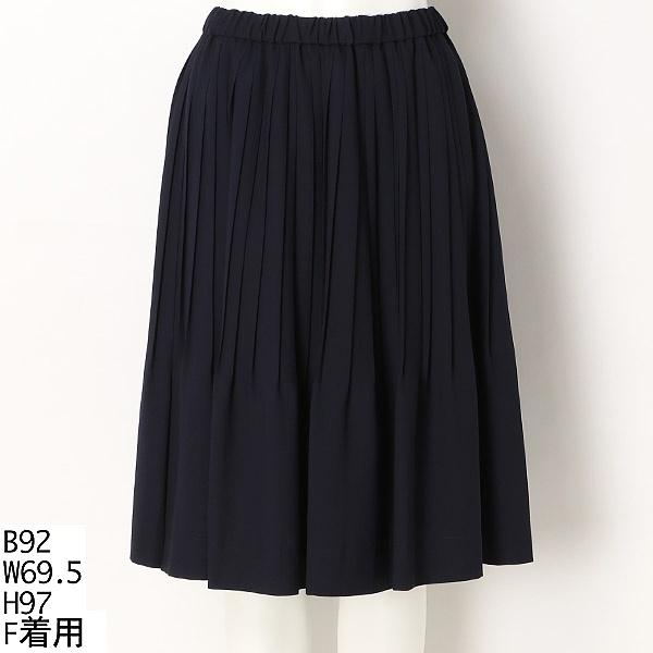 【大きいサイズ】プリーツスカート/ラクープ(LACOUPE)