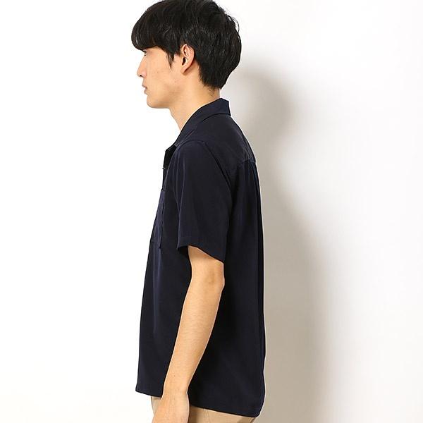 ドライスムースオープンカラーシャツ/ 【WEB限定】 (メンズ) (nano universe) 【18AW】 ナノ・ユニバース