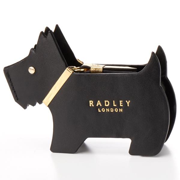 財布 PROFILE DOG ブラック/ラドリー(RADLEY)