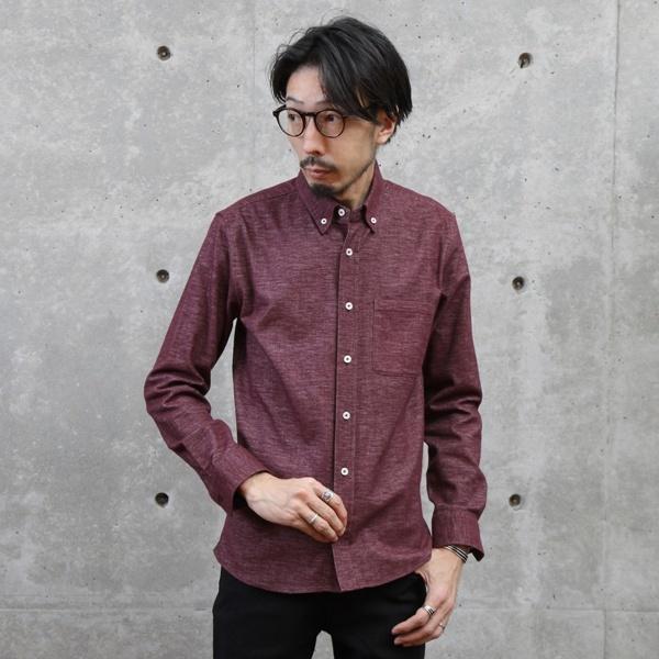 フリーフランネルBDシャツ/メンズメルローズ(MEN'S MELROSE)