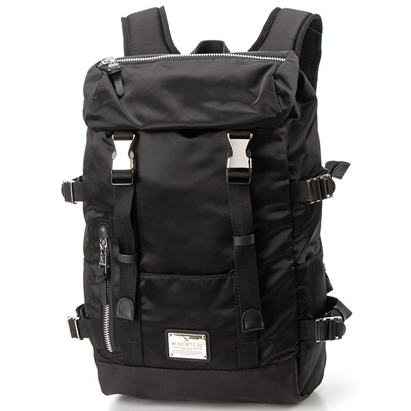 【MAKAVELIC/マキャベリック】DOUBLE BELT DAYPACK GENERAL/アドポーション(ADOPOSION)