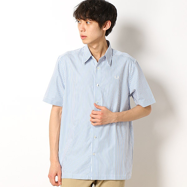 【19SS】VERTICAL STRIPED SHIRT/フレッドペリー(メンズ)(FRED PERRY)