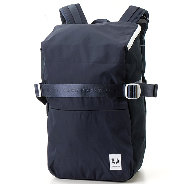 【19SS】SQUARE BACKPACK/フレッドペリー(雑貨)(FRED PERRY)