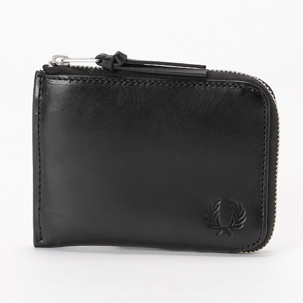 【19SS】LEATHER ZIP AROUND WALLET/フレッドペリー(雑貨)(FRED PERRY)