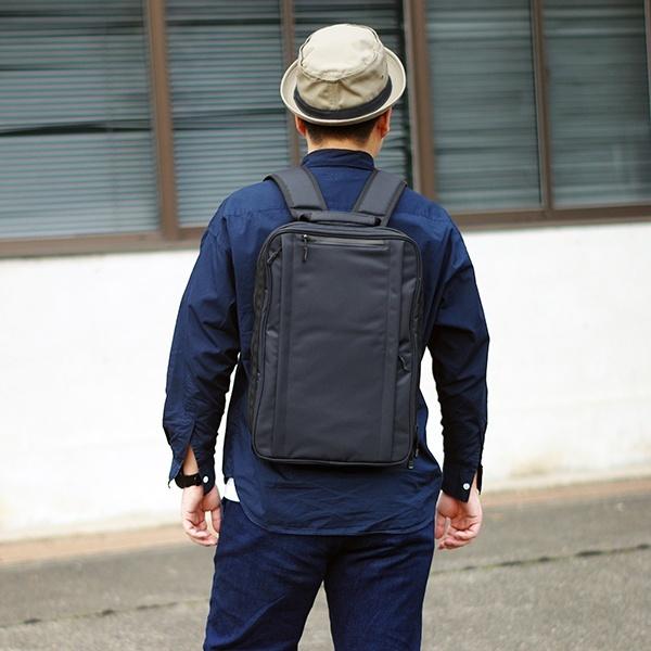 【薄マチ】 ビジネス RZ-02 【多機能】 A4/ (NOMADIC) リュックサック ノーマディック