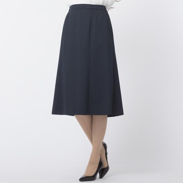 [3L・4L]ツィード6枚ハギセミフレアスカート[セットアップ対応]/フィットミーモア(Fitme Moi)