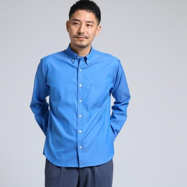 Mシャツ(ピンオックスボタンダウンシャツ[ メンズ シャツ ボタンダウン ])/タケオキクチ(TAKEO KIKUCHI)