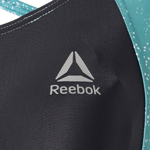 【REEBOK】 星空柄切替オールインワン水着/ リーボック (水着)(REEBOK)
