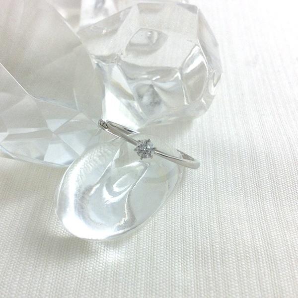 プラチナダイヤモンドリング[Pt900/0.08ct]/東京ジュエリーインデックス(TOKYO JEWELRY INDEX)