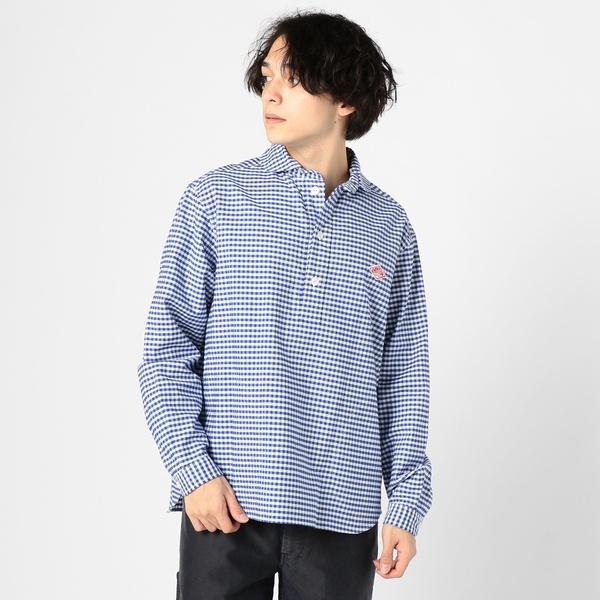 【DANTON/ダントン】丸襟ギンガムチェックシャツ JD-3568TRD/フレディ&グロスター メンズ(FREDY&GLOSTER)